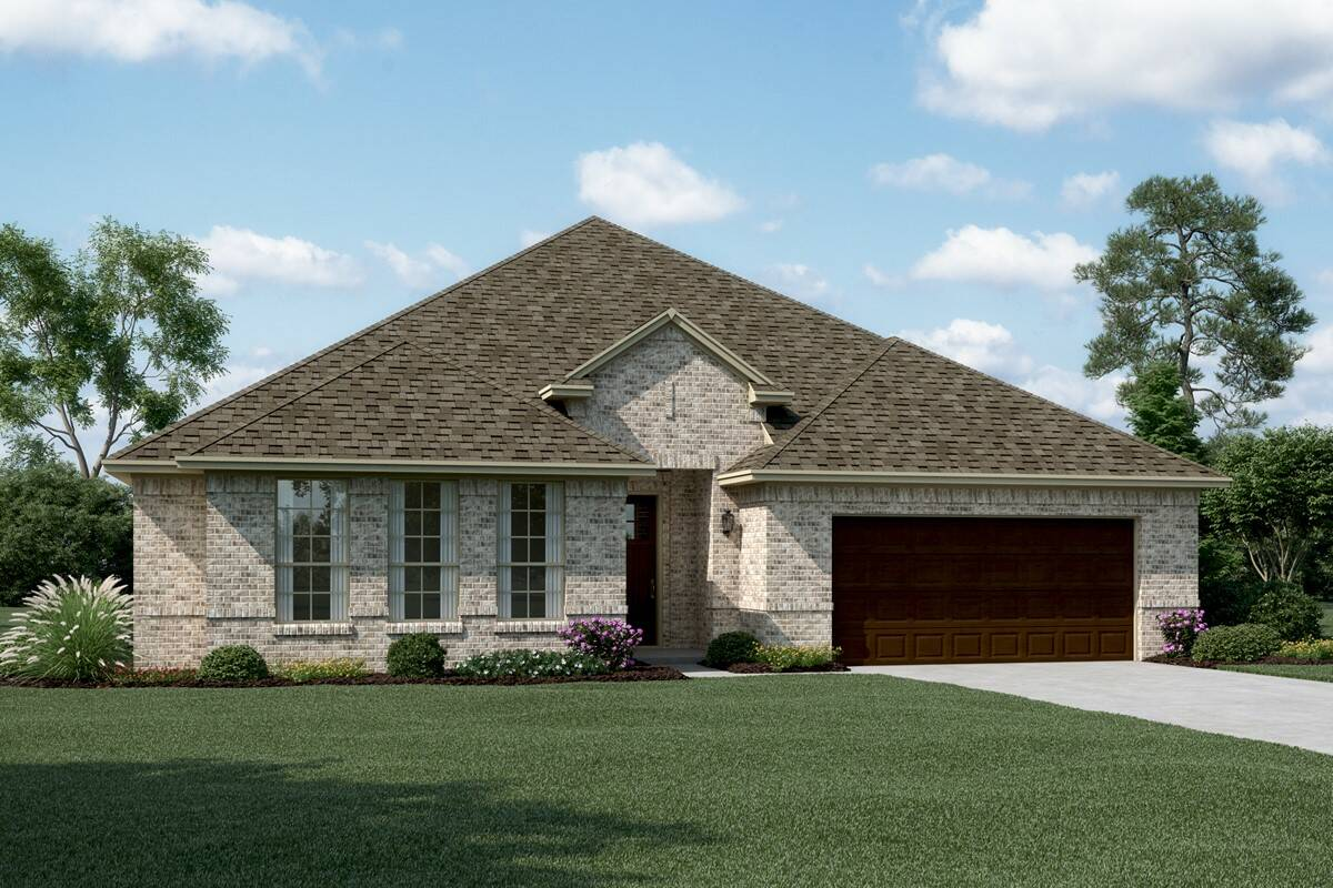 Stratford II A new homes dallas tx