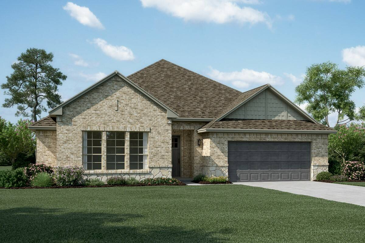 Stratford II B stone new homes dallas tx