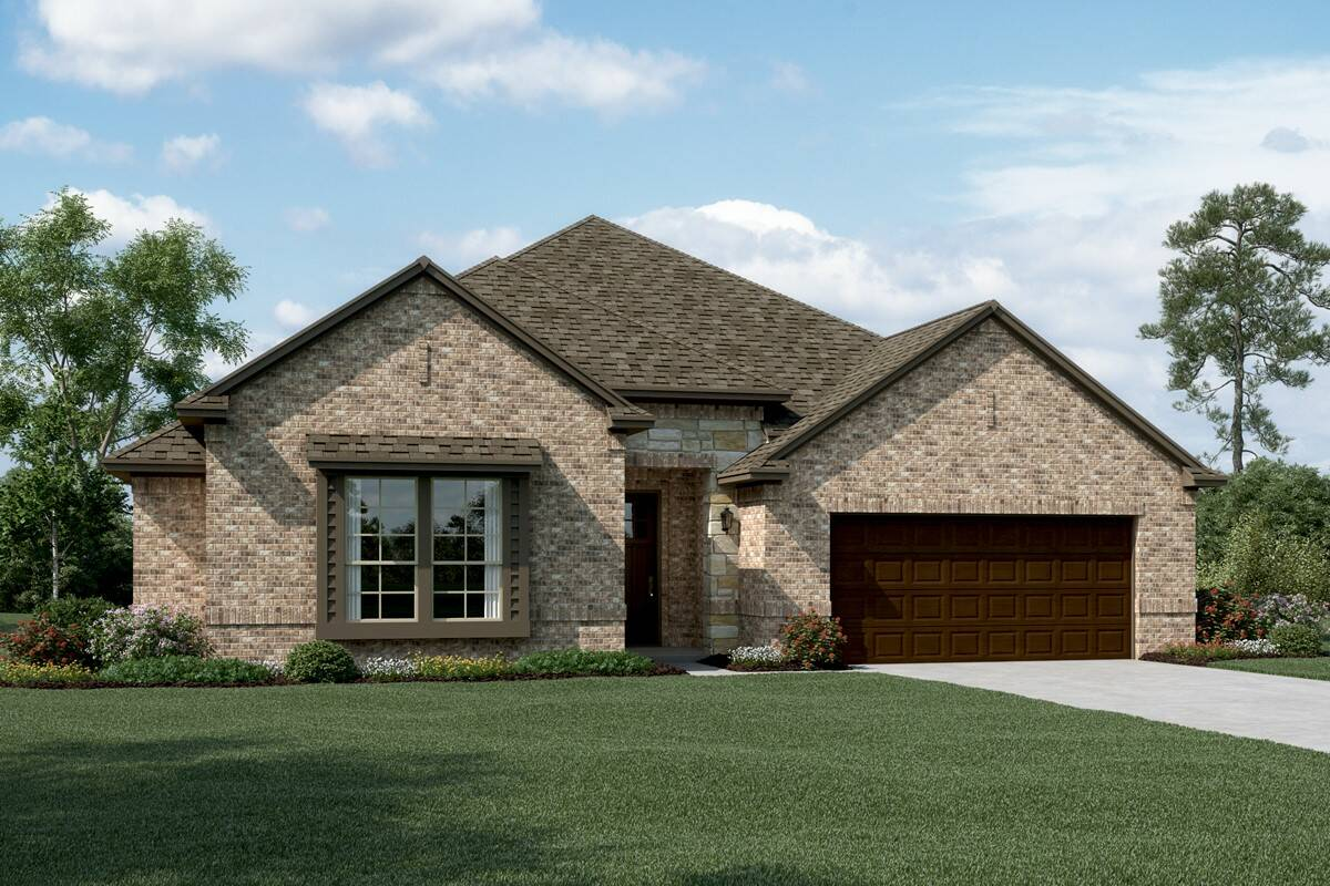 Stratford II C Stone new homes dallas tx
