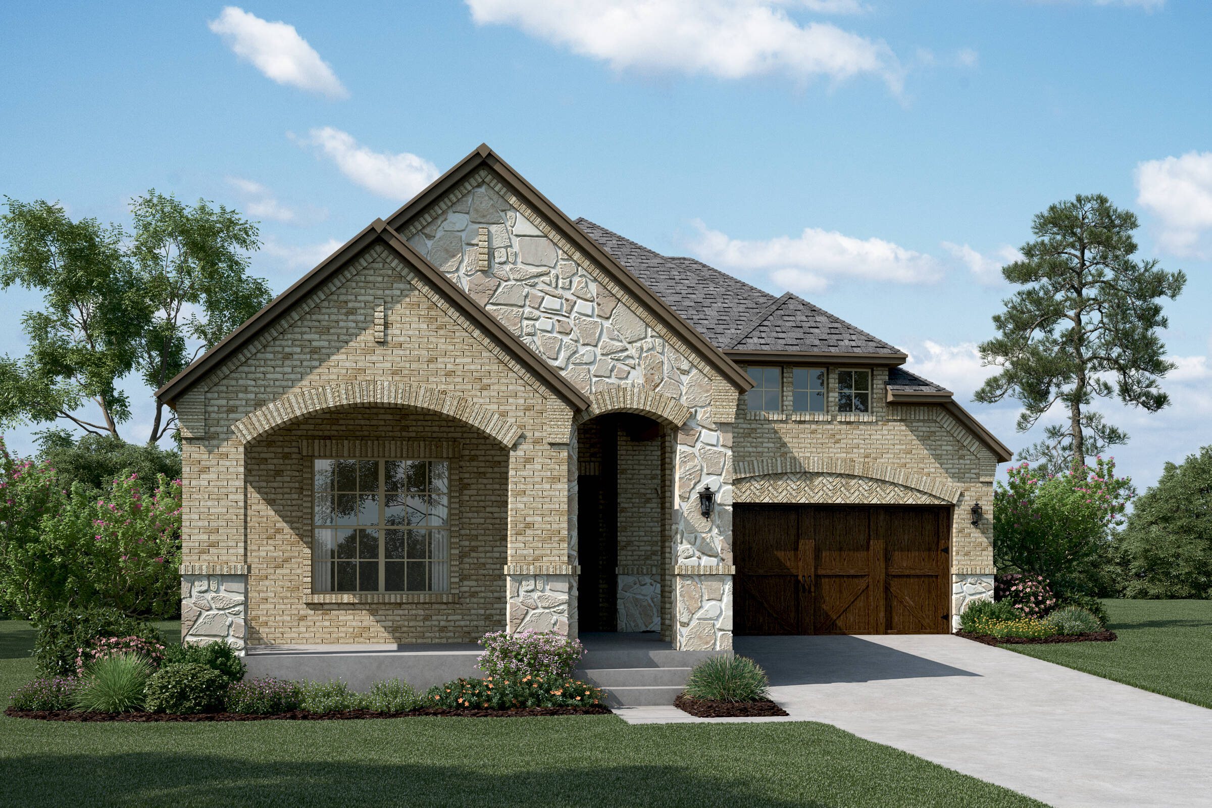 Ventura B Stone new homes dallas tx