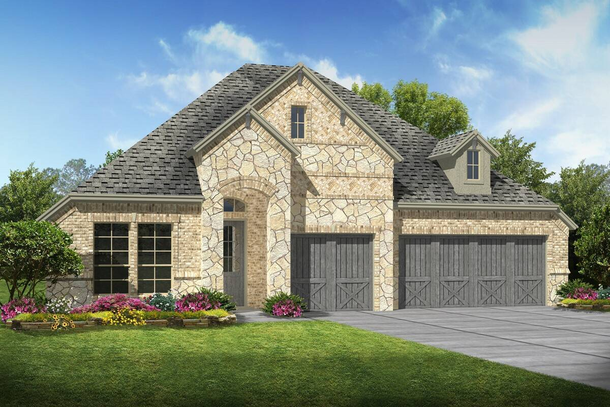 Walden II C Stone new homes dallas texas