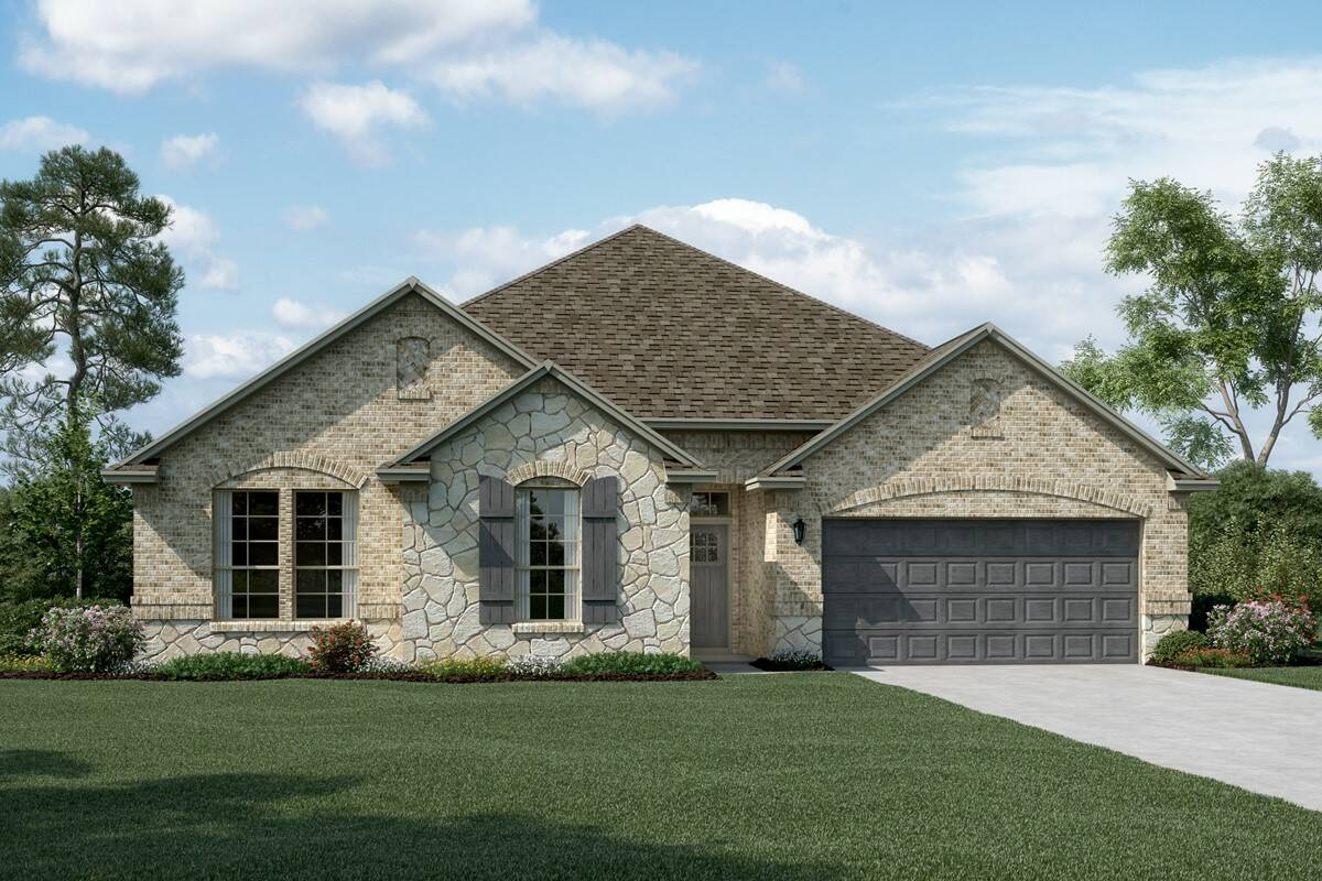 Wedgewood II C Stone new homes dallas tx