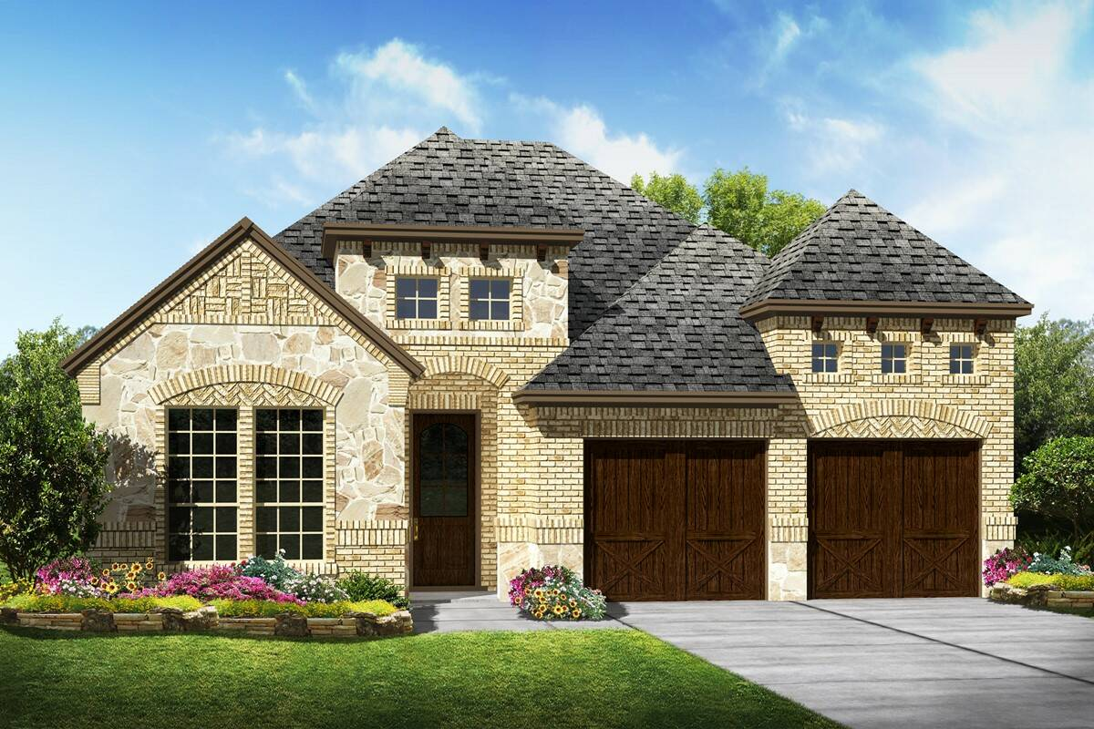 Westridge C Stone new homes dallas texas