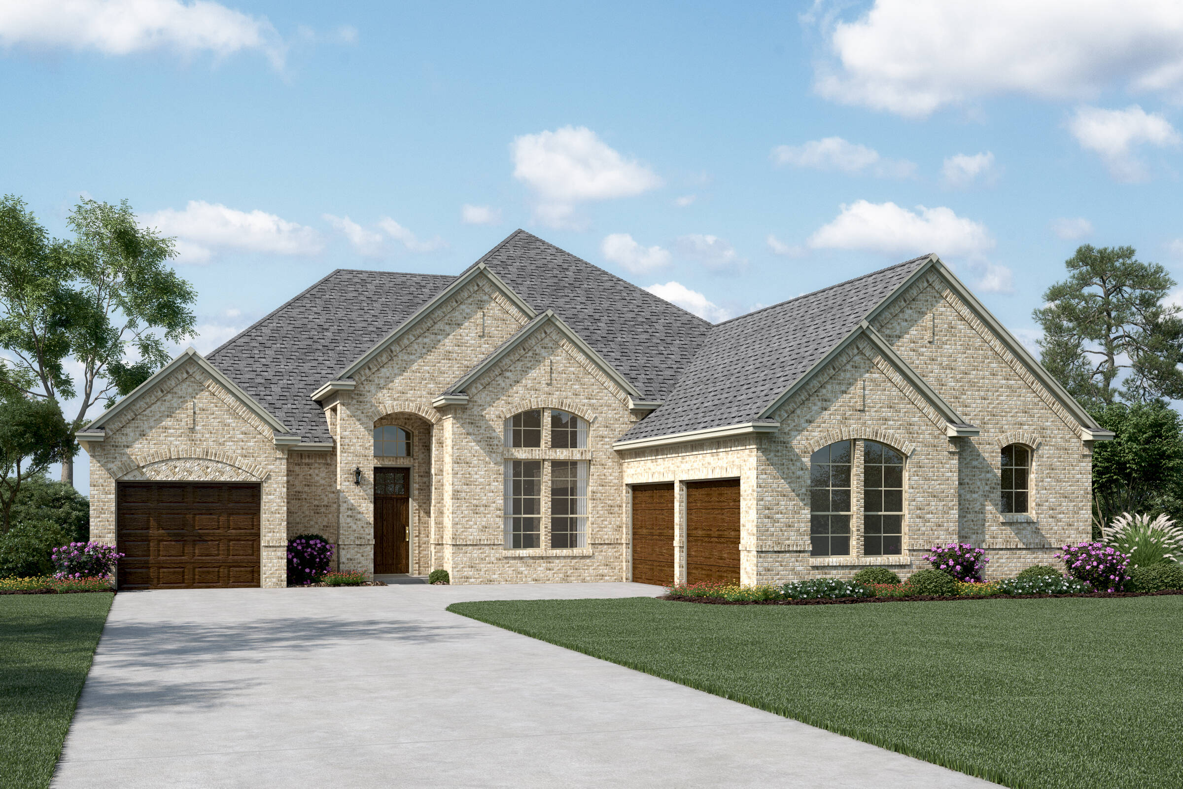 Williamson II J new homes dallas tx