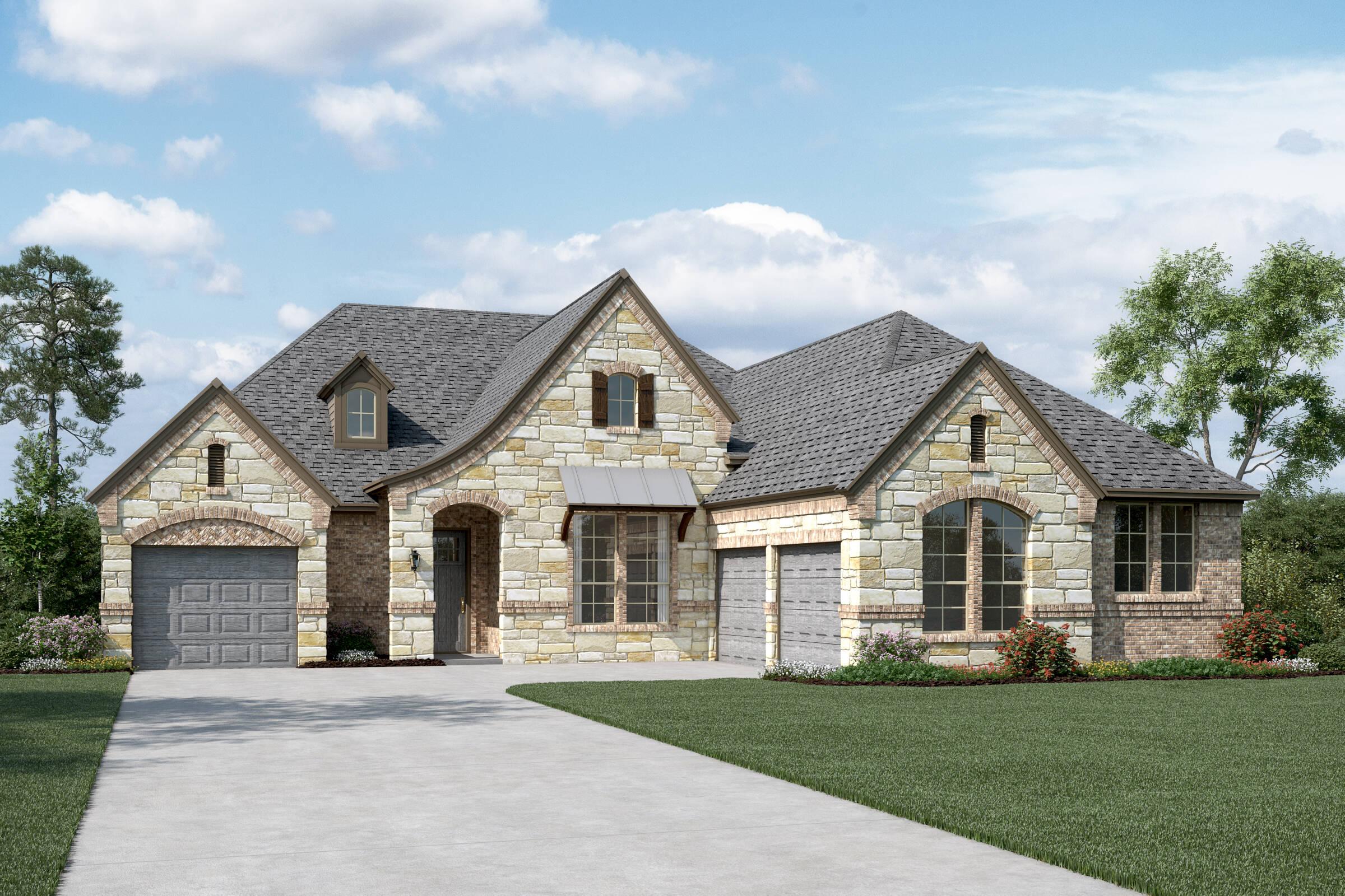 Williamson II L Stone new homes dallas tx