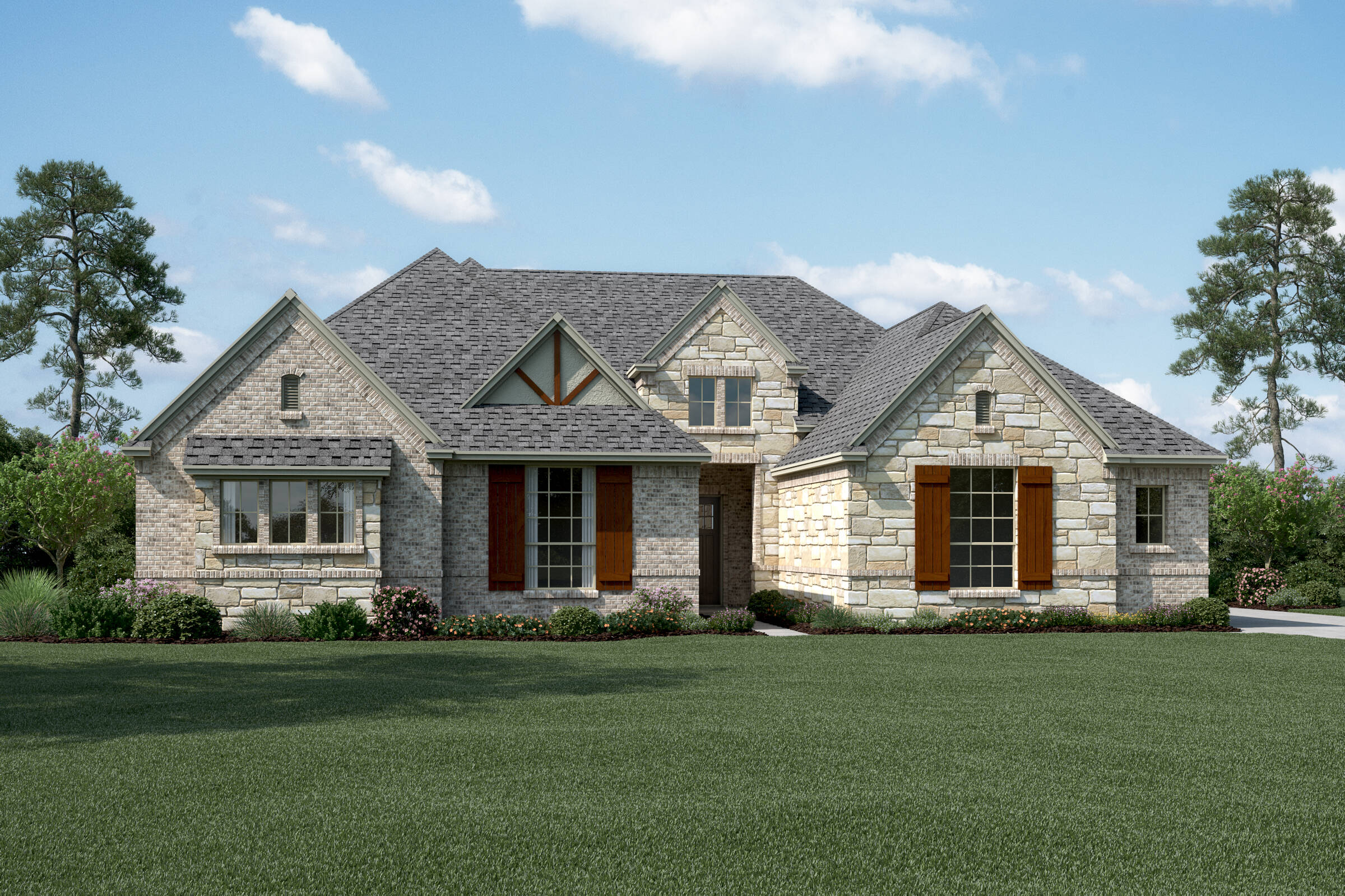 Windhaven K Stone new homes dallas tx