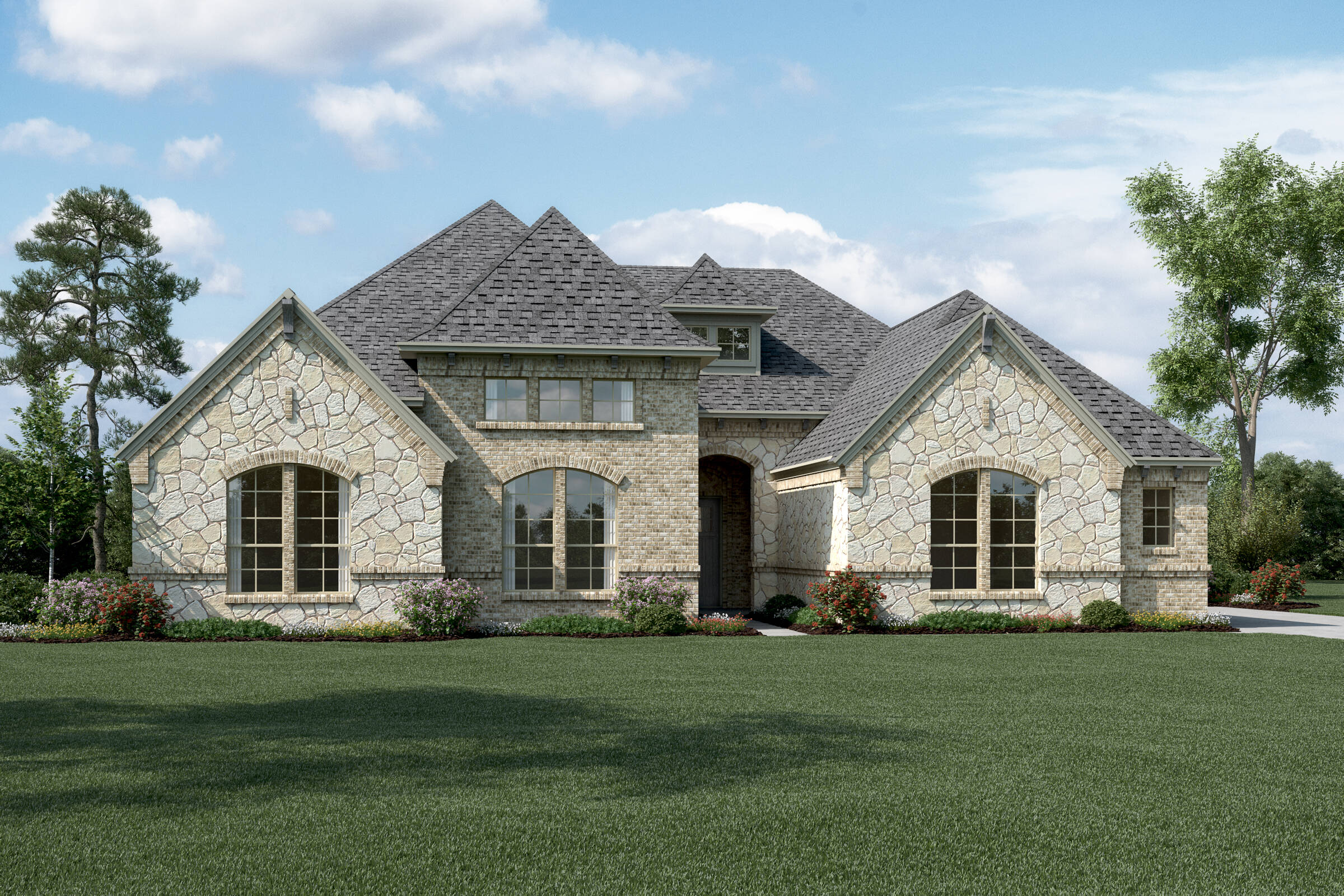 Windhaven L Stone new homes dallas tx