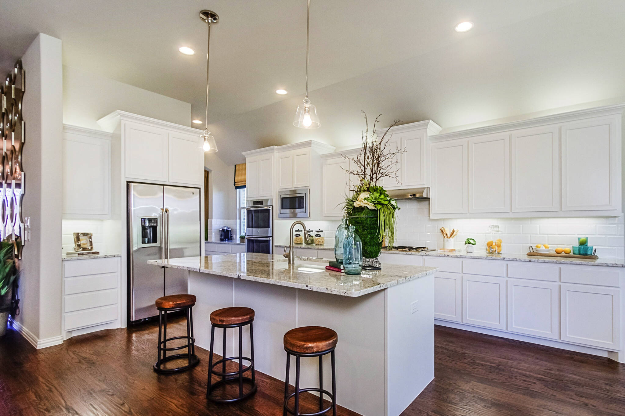 New Homes in Roanoke Texas Seventeen Lakes Estates Hillcrest Kitchen