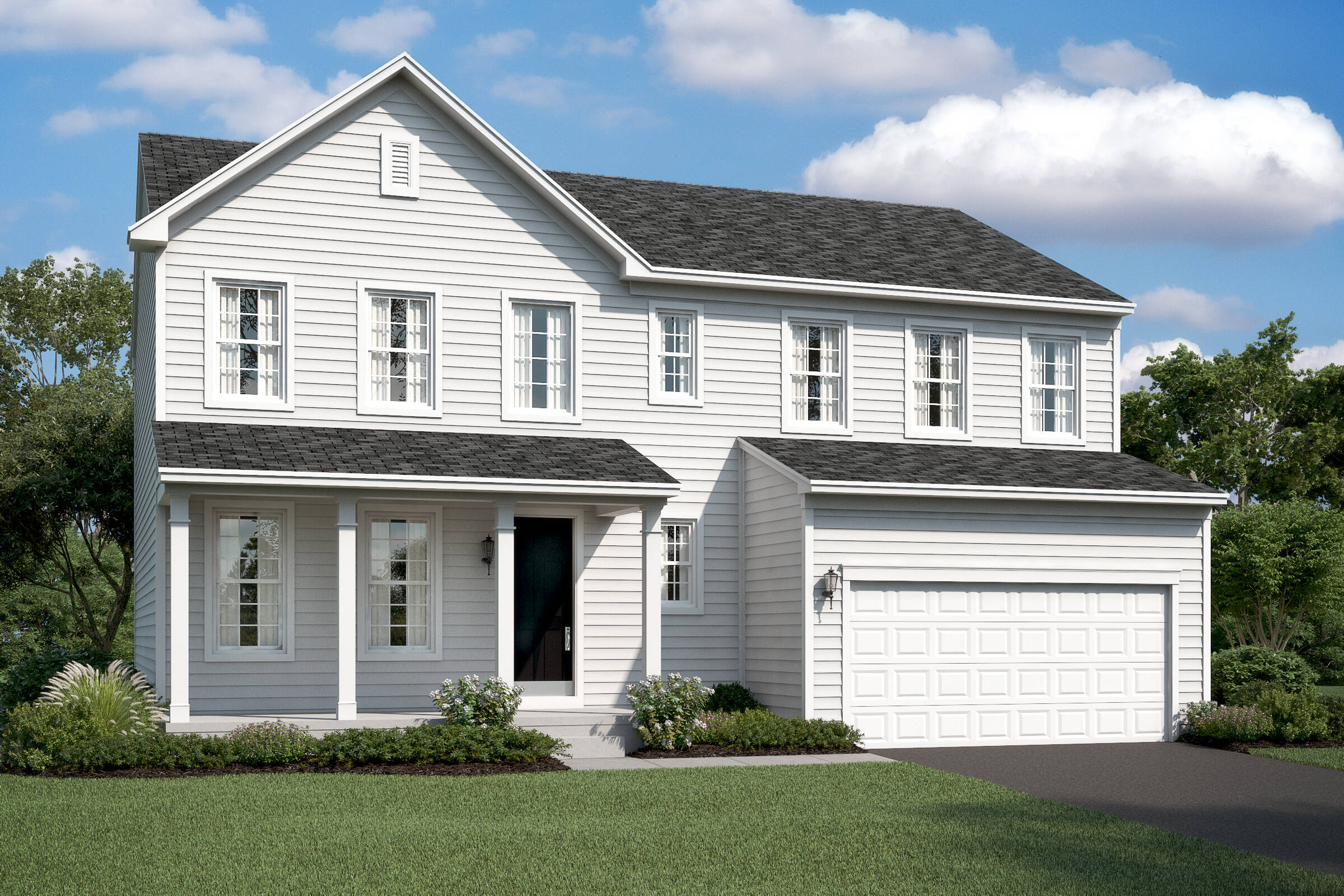 peach tree II cs new homes at wellspring in virginia