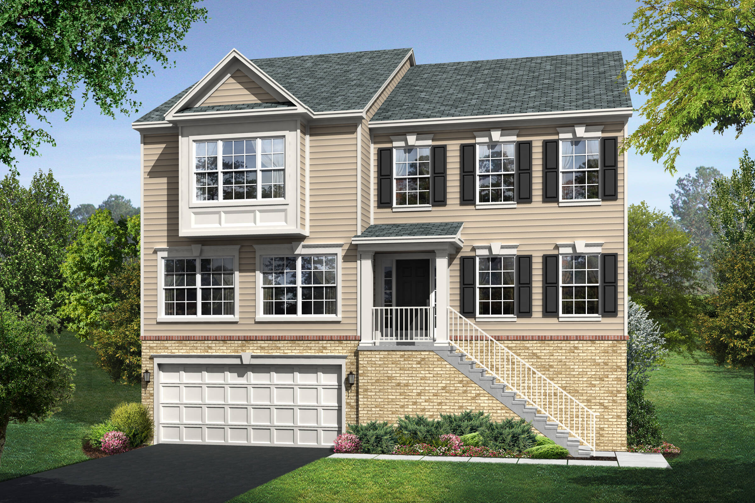 vanderbilt b new homes at at wellspring in virginia