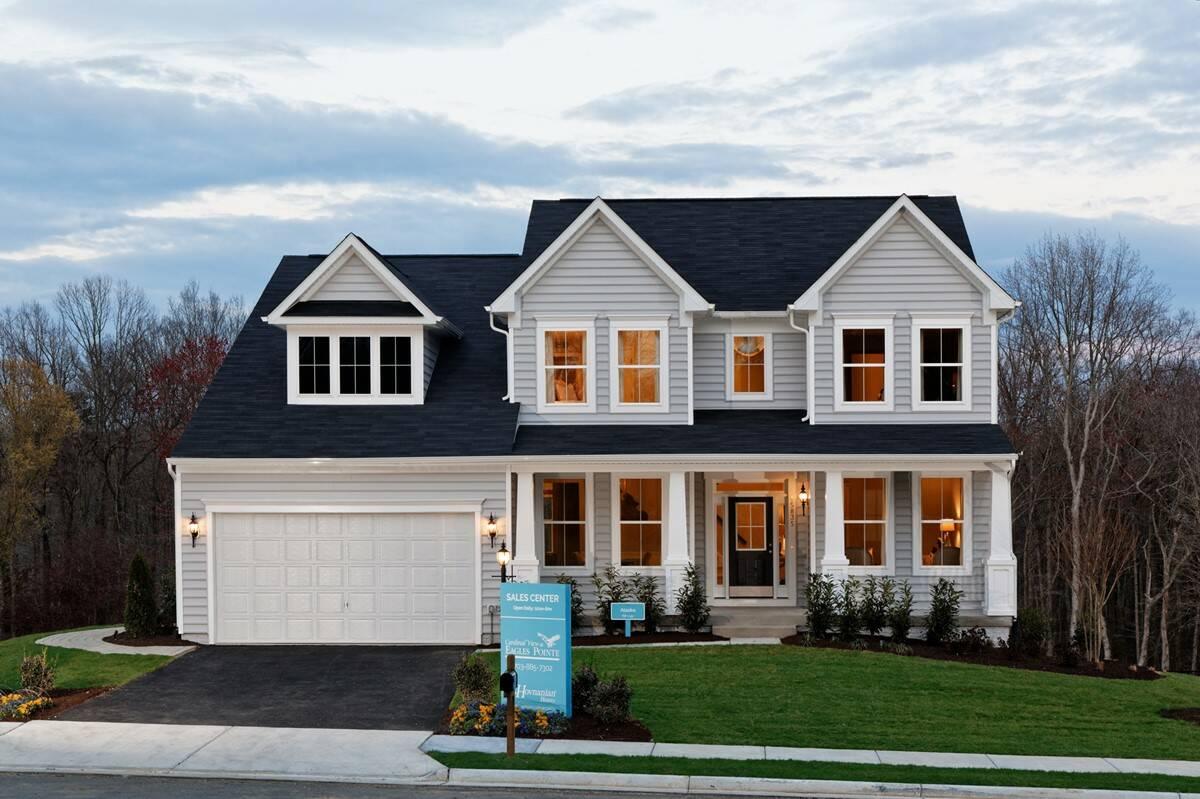 alaska c new homes at cardinal view in virginia