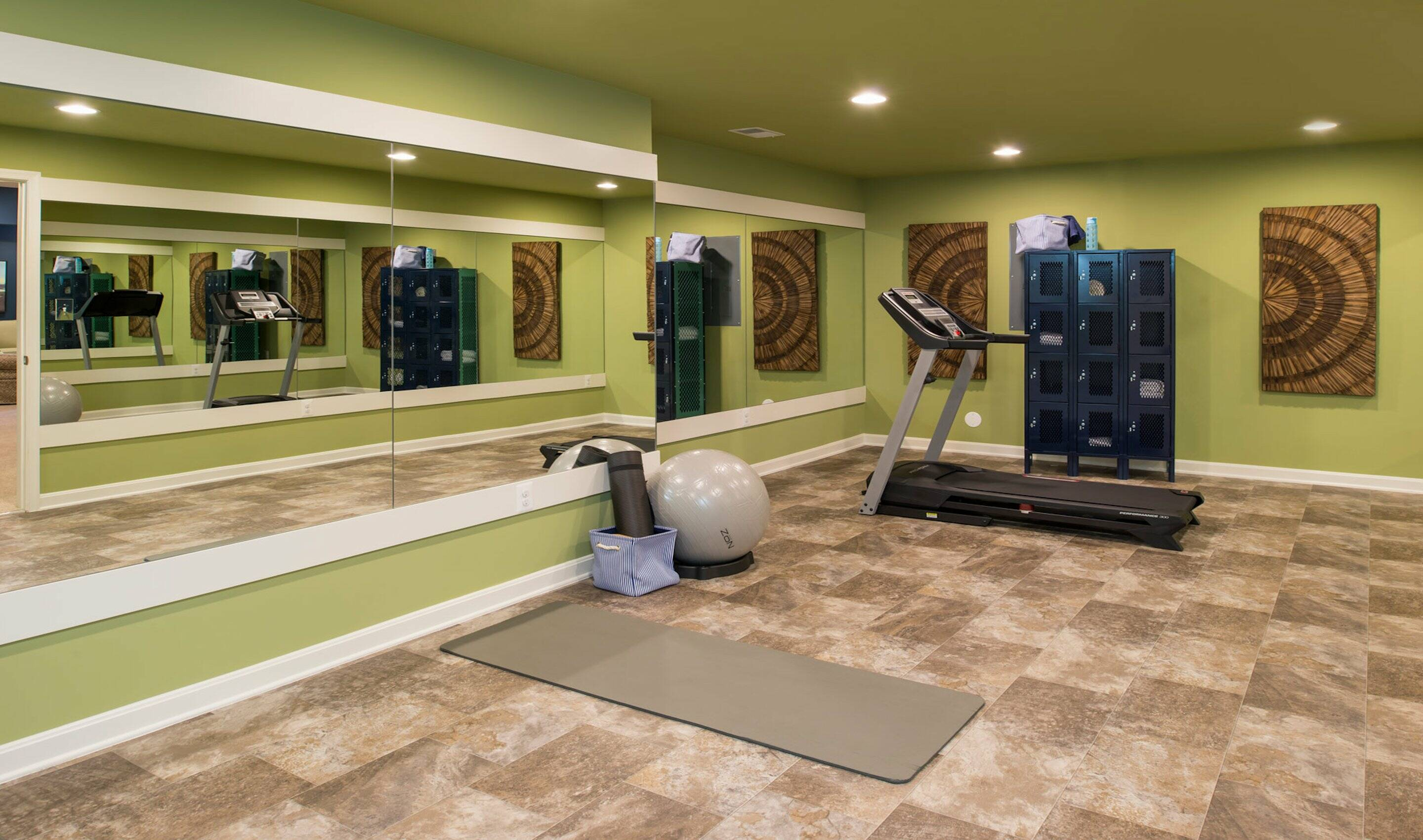 Lower level available recreation room