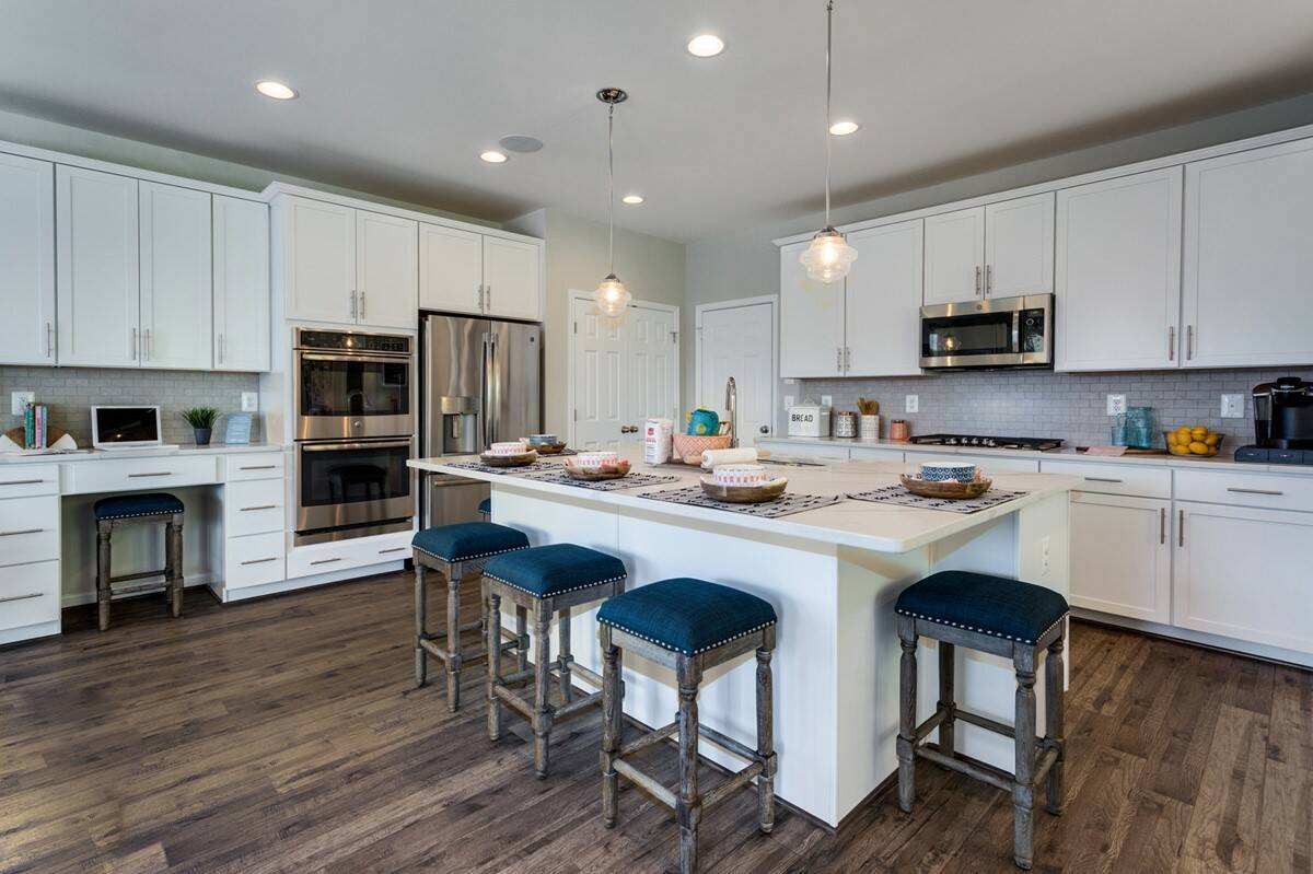 york II kitchen new homes at embrey mill