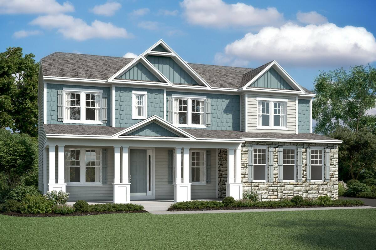 delaware II cs new homes of estates at chancellorsville
