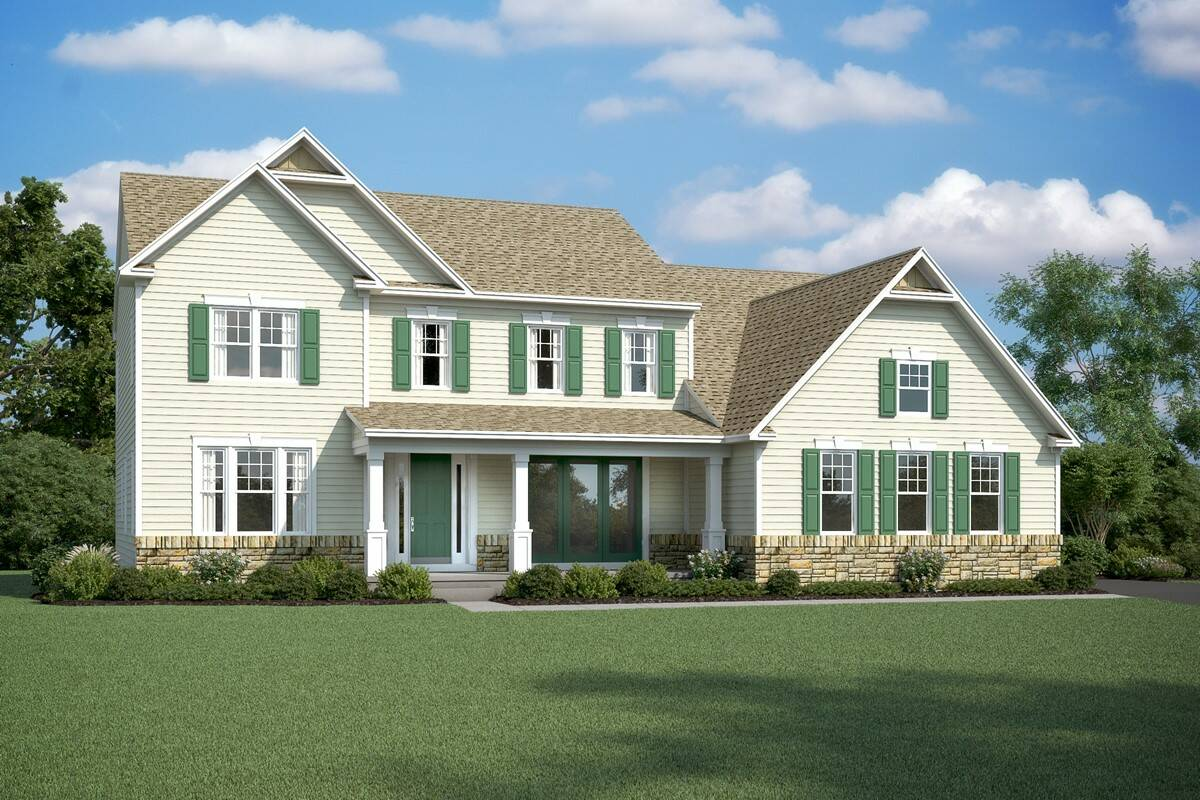 rhode island II bs new homes at esates of chancellorsville