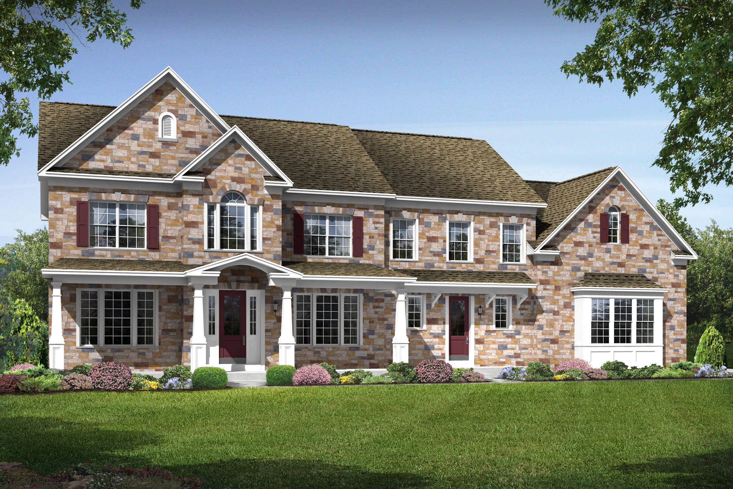 rosewell h new homes at foxmont