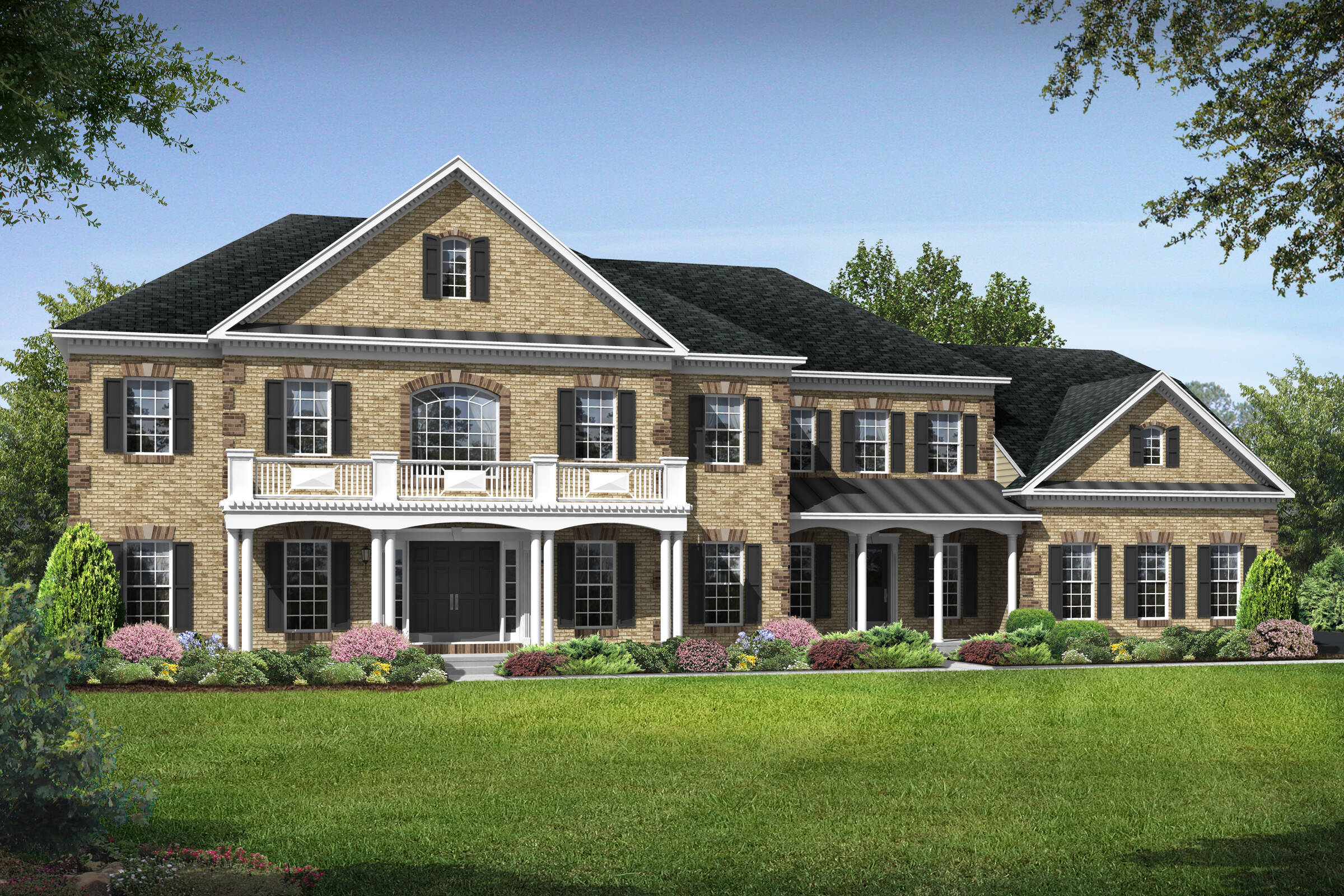 tara colonial new homes at foxmont