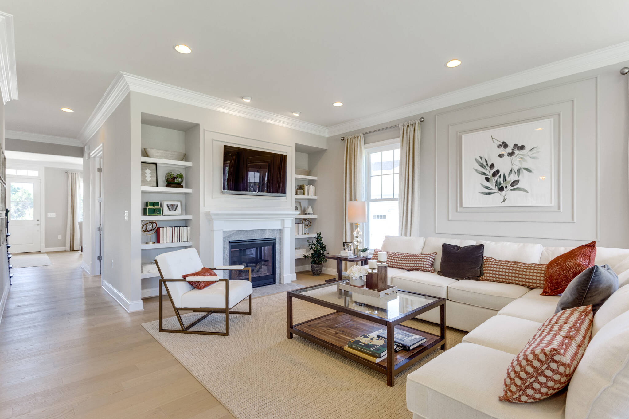birkdale family room new homes at hearth collection