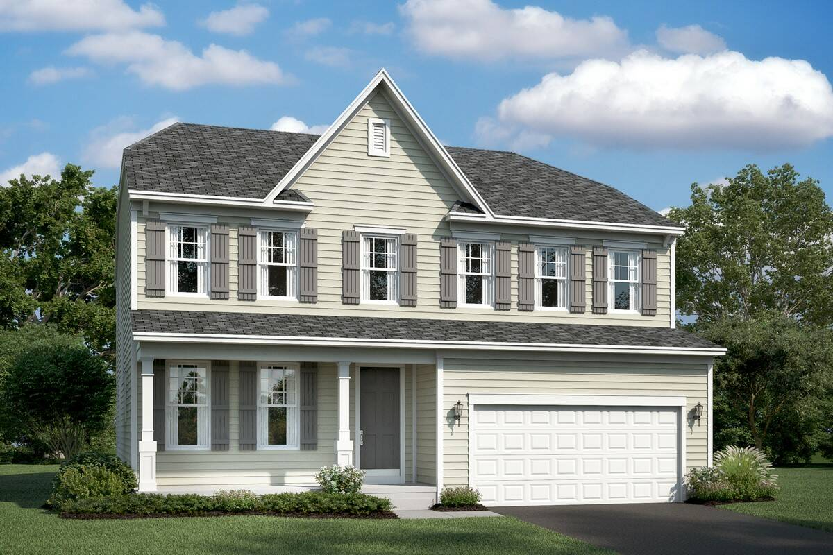 lancaster ds new homes at leeland station in virginia