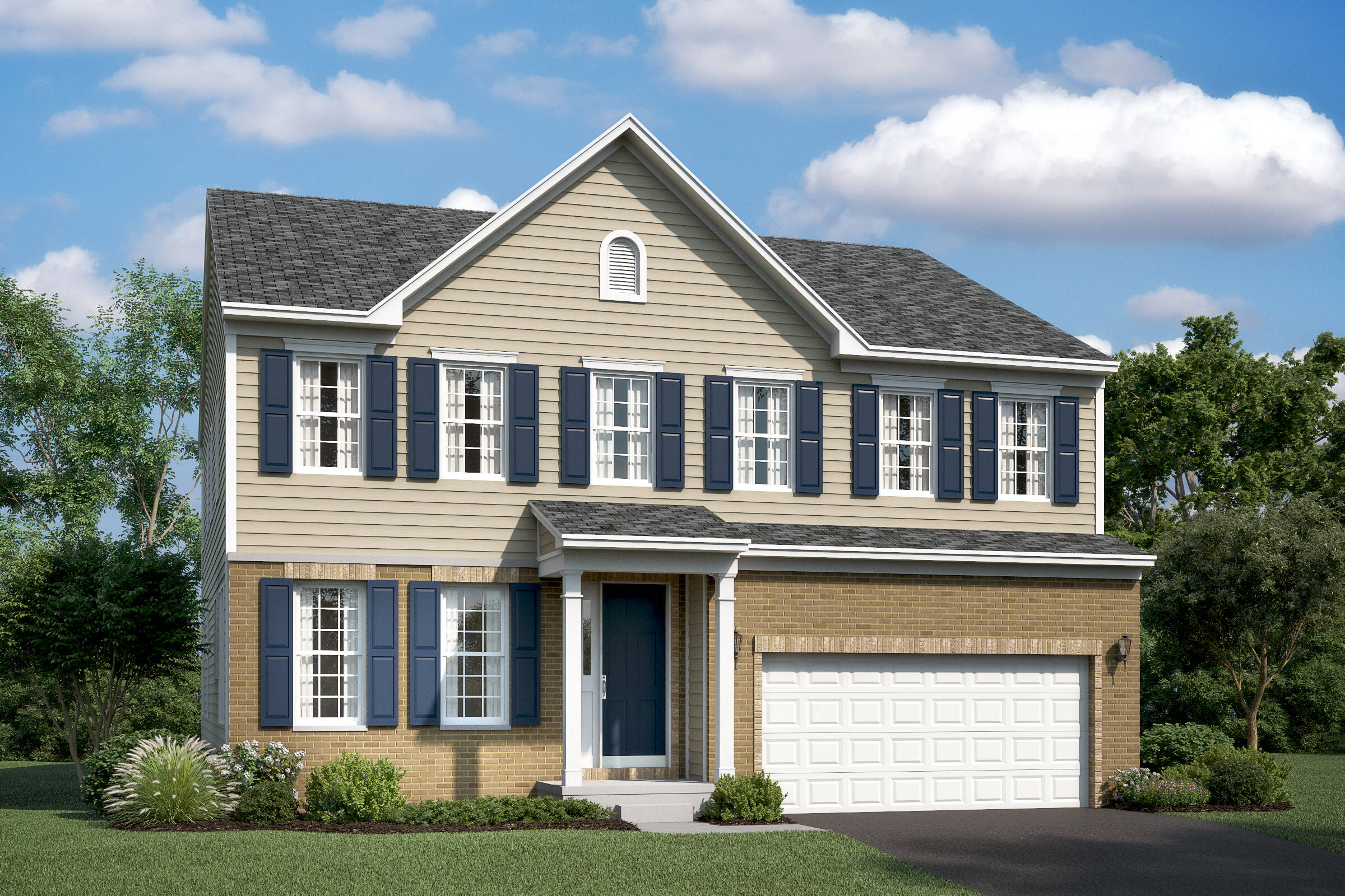 lexington bb new homes at leeland station in virgina