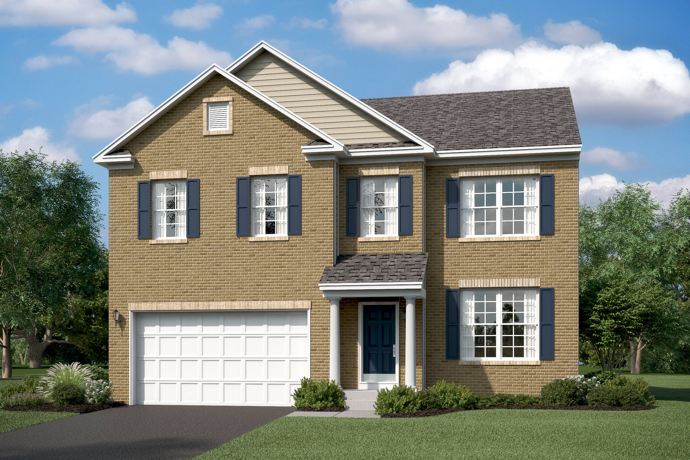 remington colonial new homes at leeland station in virginia