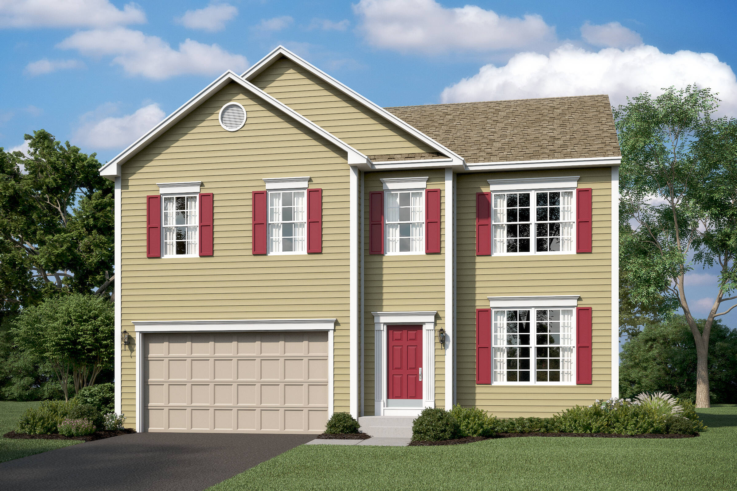 remington traditional new homes at leeland station in virginia