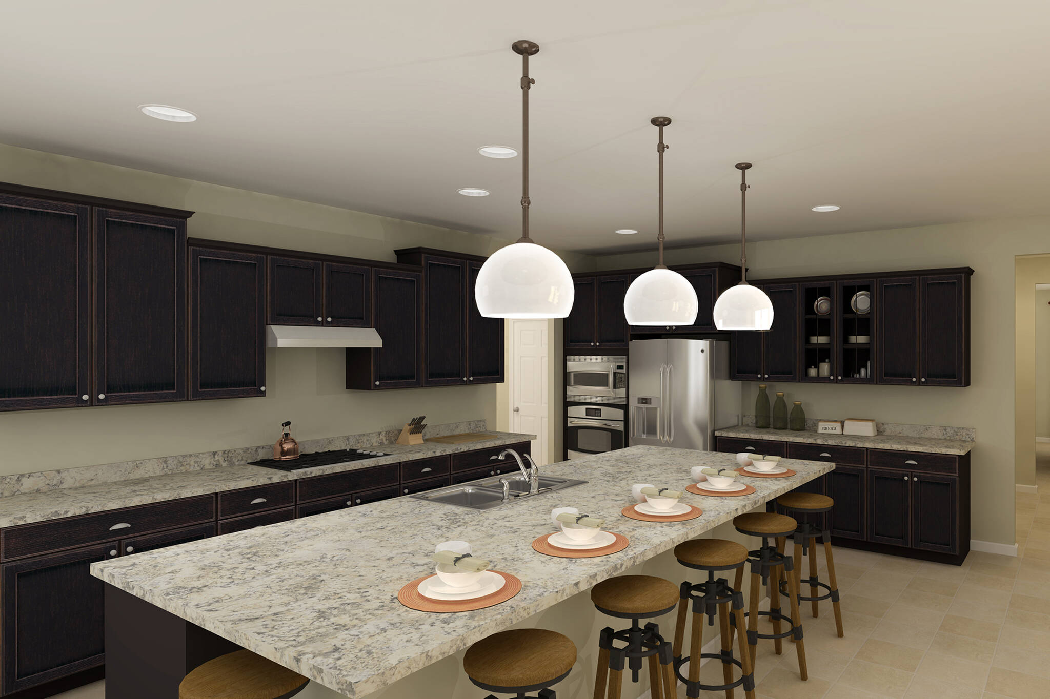 oxnard I kitchen new homes in virginia
