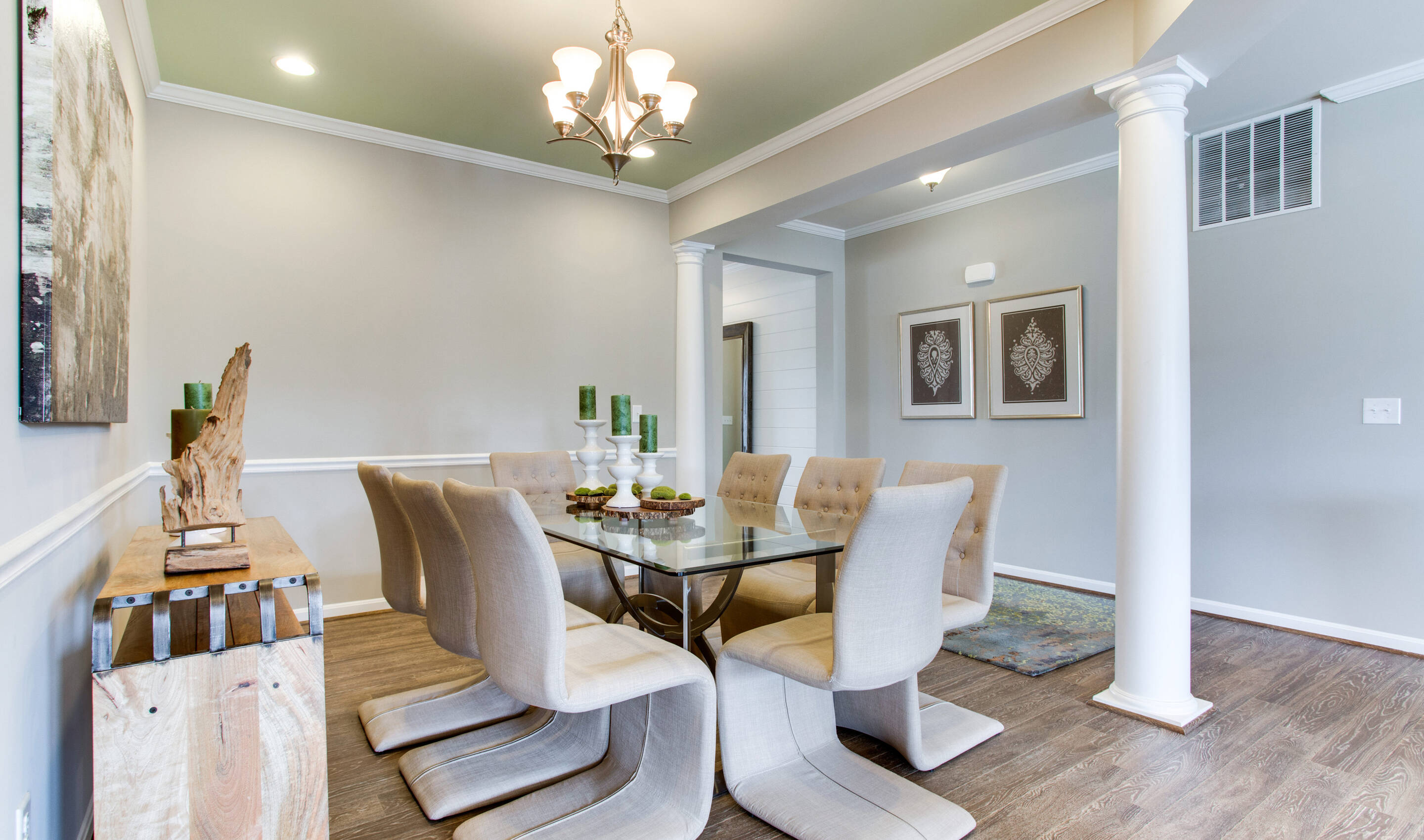 berry hill dining room new homes at raymond farm