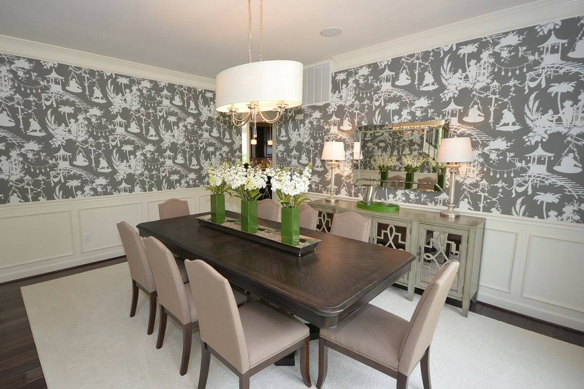 formal dining room new homes at reserves at leeland station in virginia