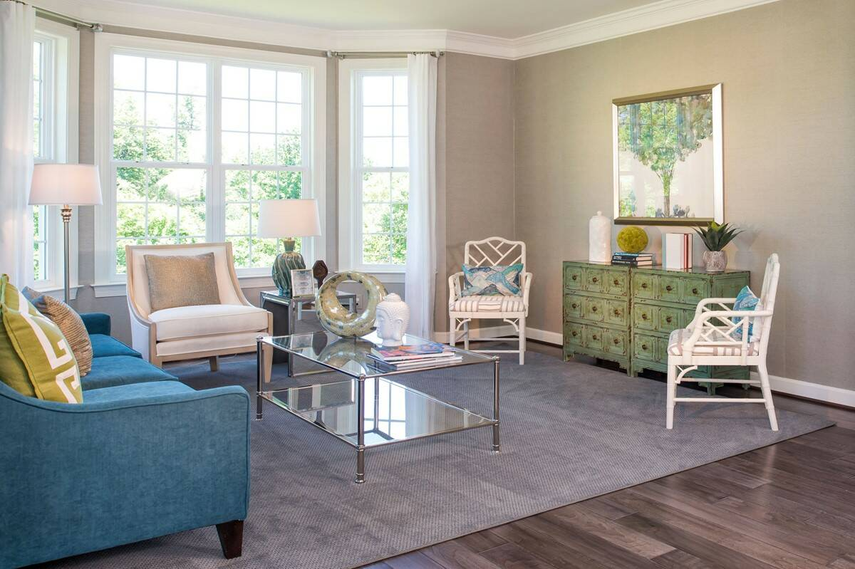 formal living room new homes at reserves at leeland station in virginia