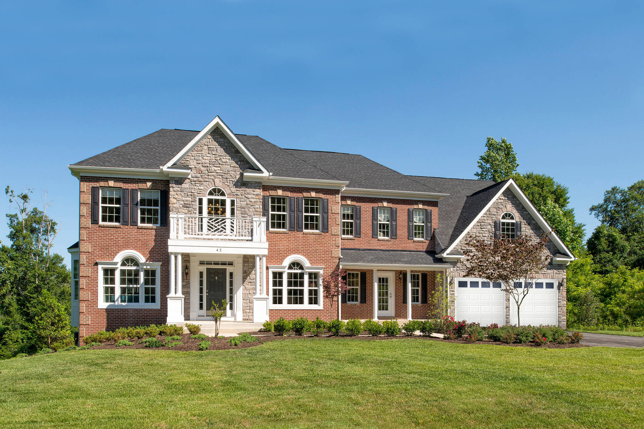 wisconsin traditional new homes at reserves at wheatlands in virginia