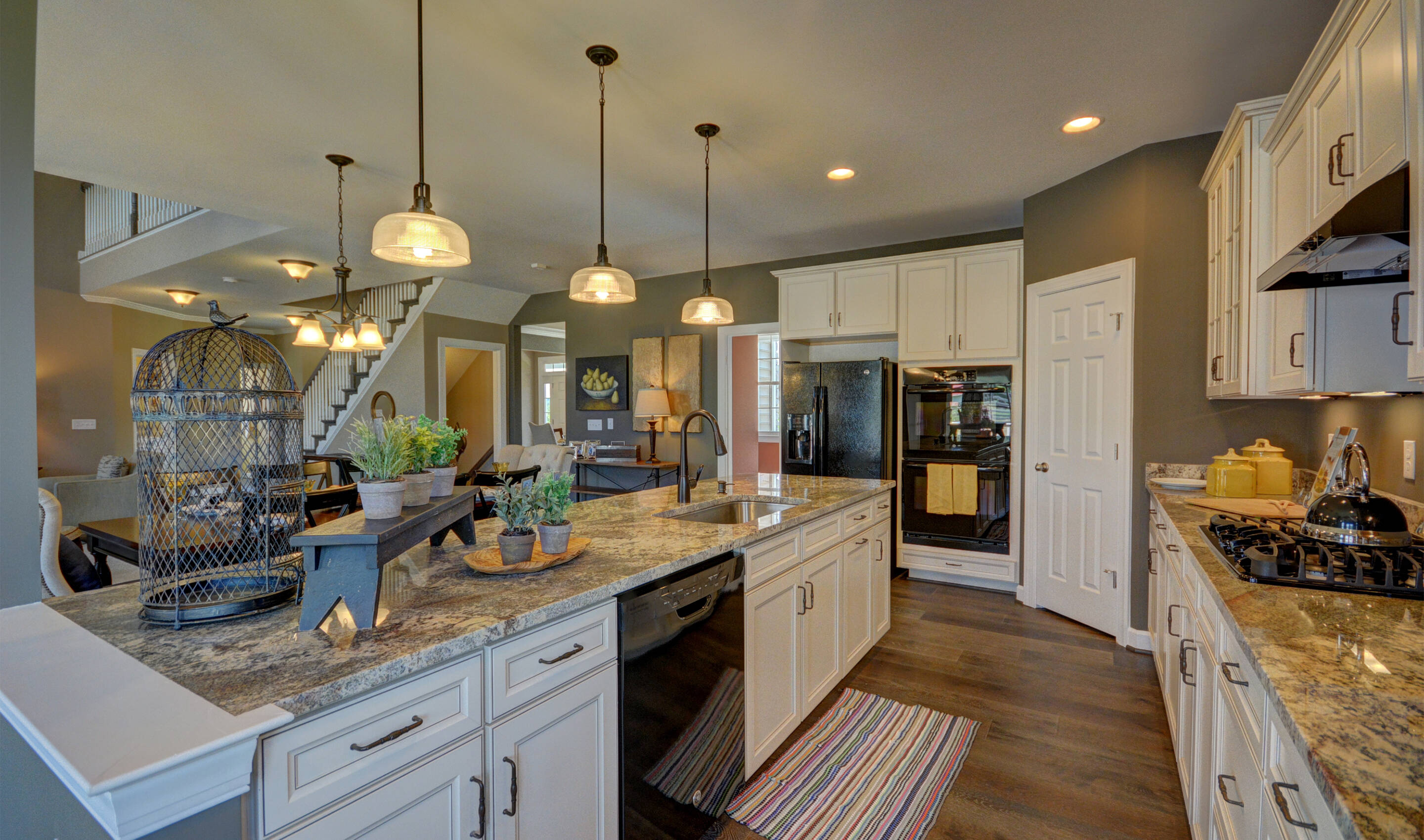 luxurious kitchen new homes at reserves at leeland station in virginia