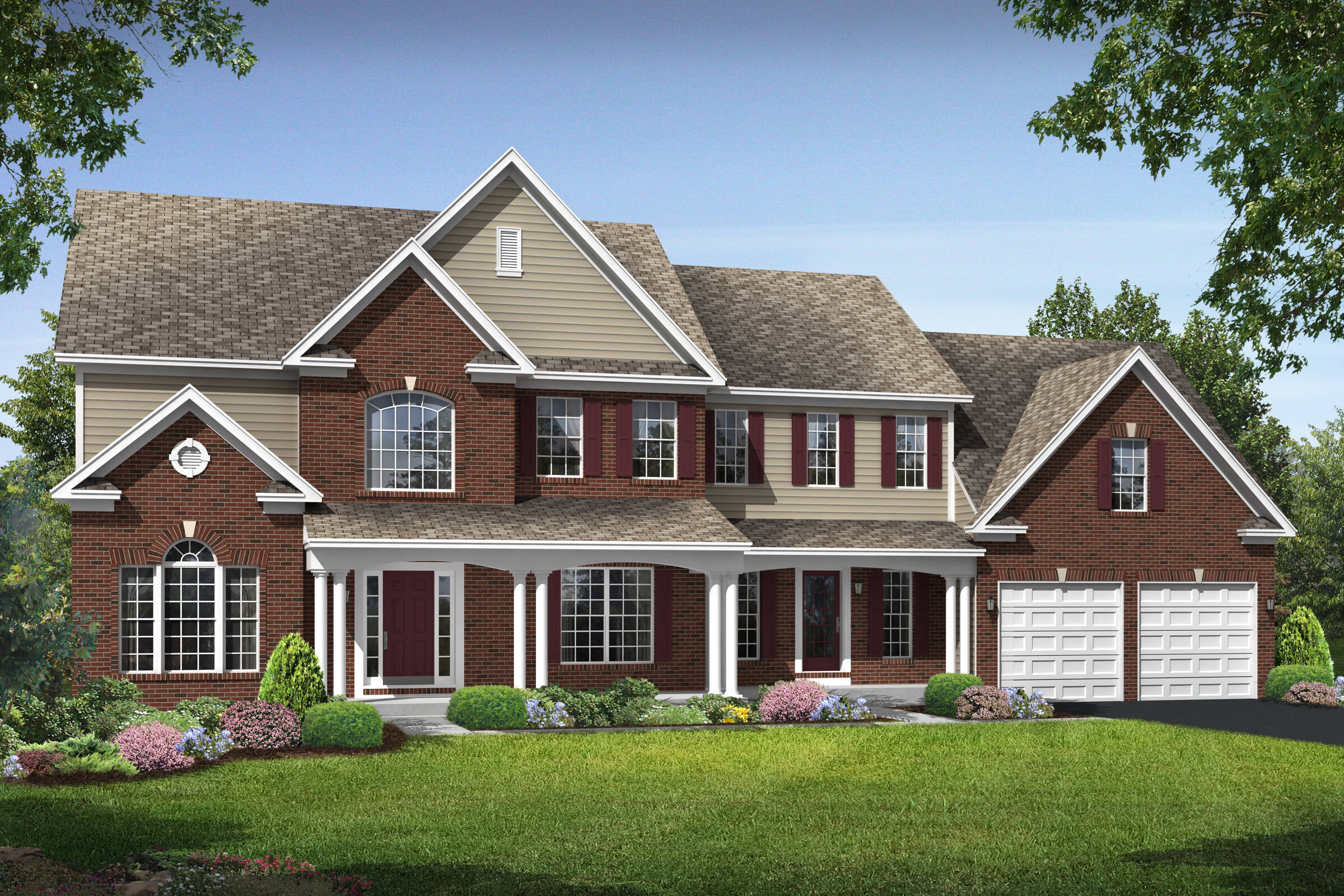 wisconsin victorian new homes at reserves at leeland station in virginia