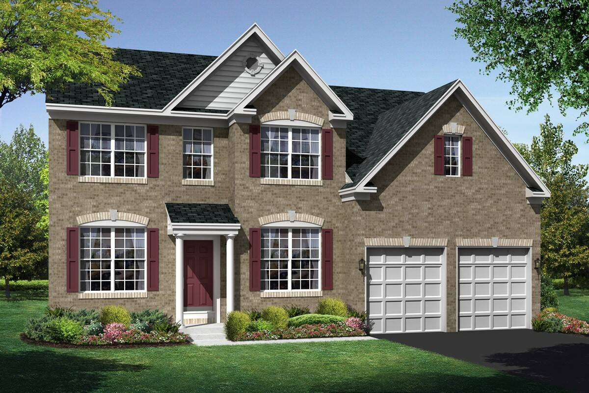 maryland II colonial new homes at shenandoah springs in west virginia