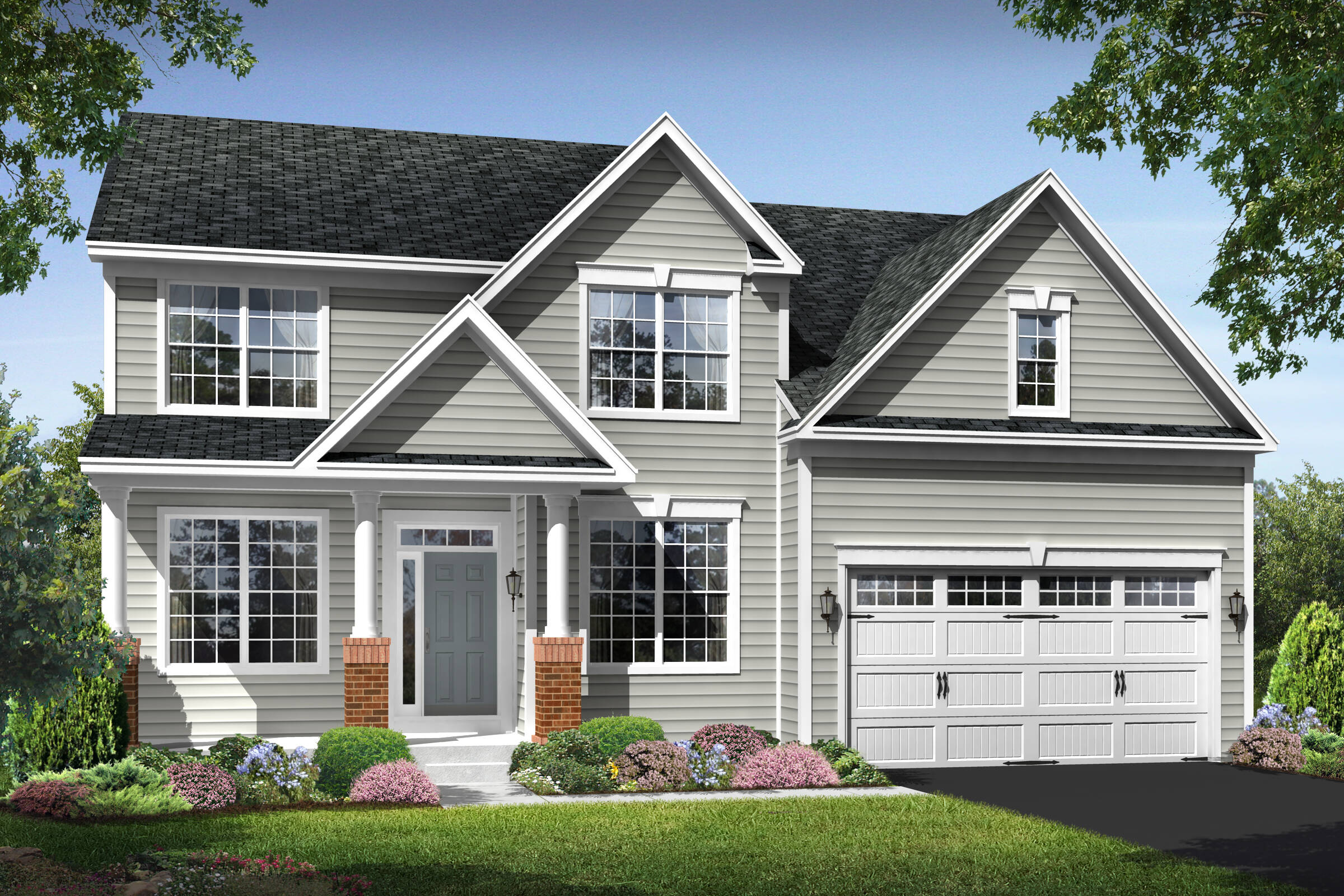 maryland II cs new homes at shenandoah springs in west virginia